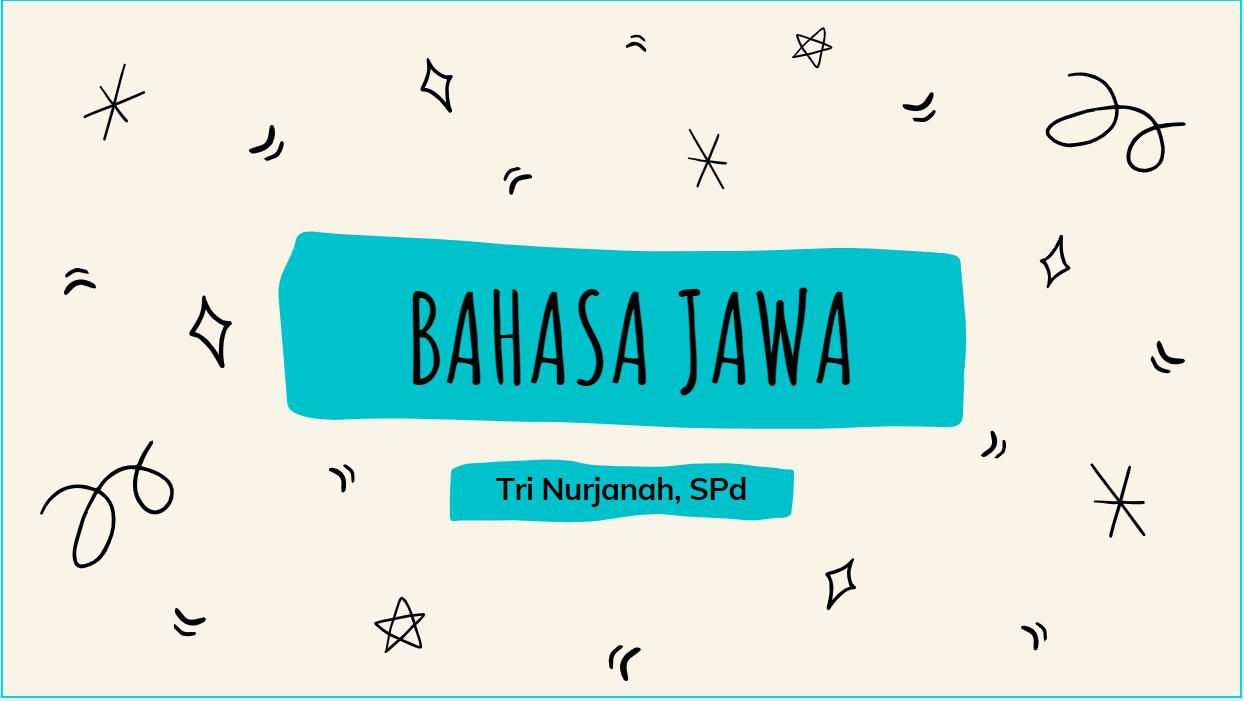 Bahasa Jawa 7C