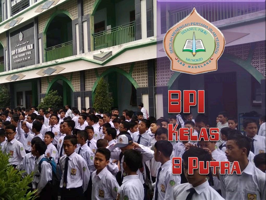 BPI kelas 8 Putra