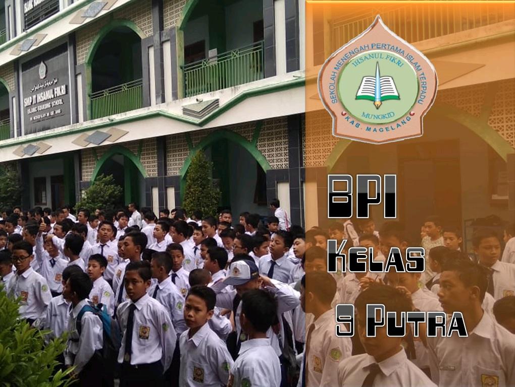 BPI Kelas 9 Putra